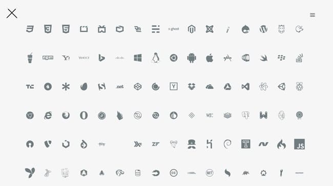 An iconic font made for developers