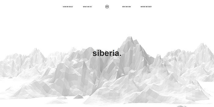 Showcase Of Cool Black And White Website Design