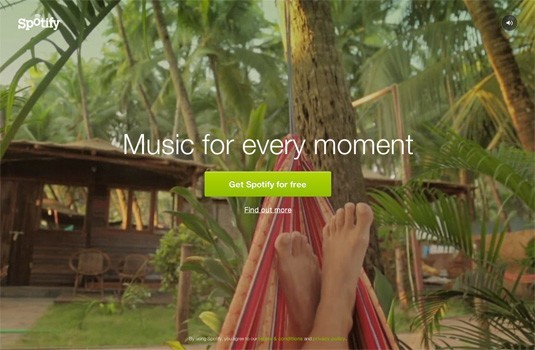 Excellent Websites with Video Background