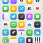 mobile-apps-icon-set