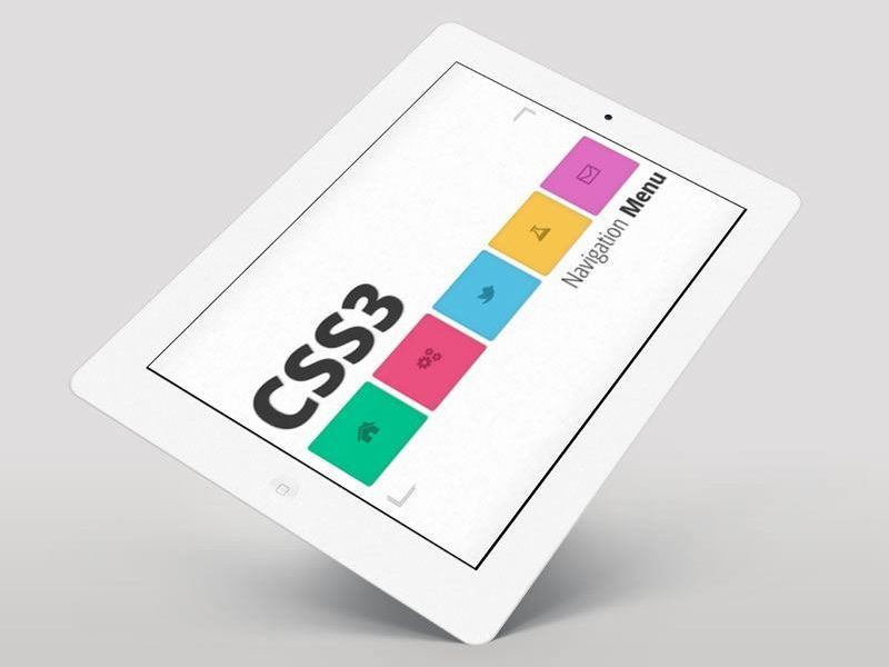 Create Navigation Menu for your website in CSS3, jQuery and JavaScript