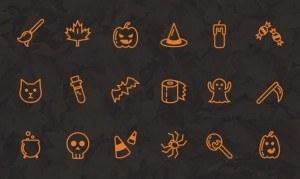 Freebie – Halloween Icon Set
