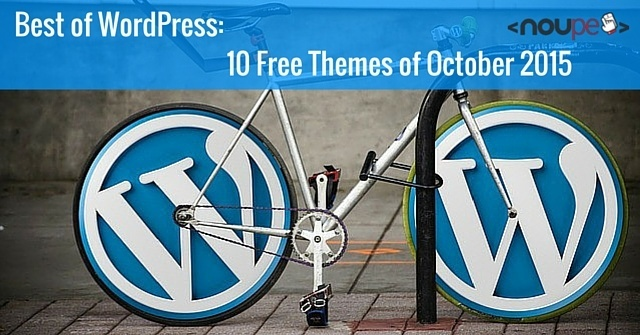 WordPress: 10 Free Themes of October 2015