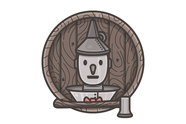 How to Create Tin Man From The Wizard of Oz Using Adobe Illustrator