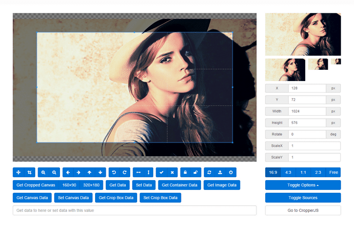 A Simple jQuery Image Cropping Plugin