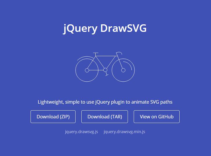 jQuery DrawSVG, Animate SVG Paths