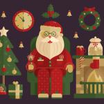 Santa-Icon-Set