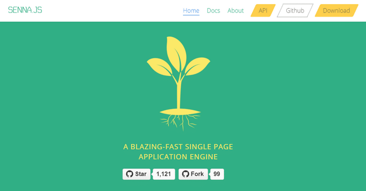 A Blazing Fast Single Page Application Engine