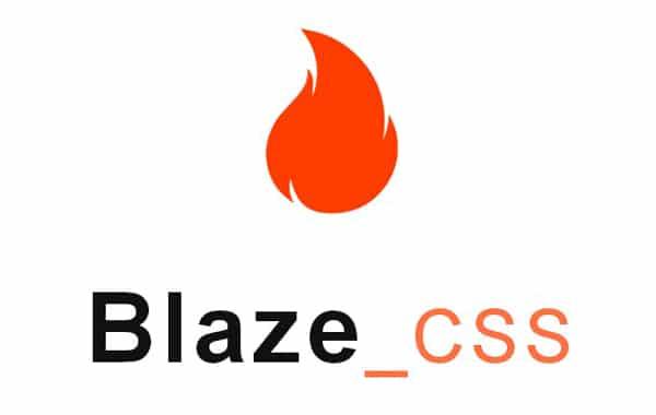 Open Source CSS Framework Blaze.CSS