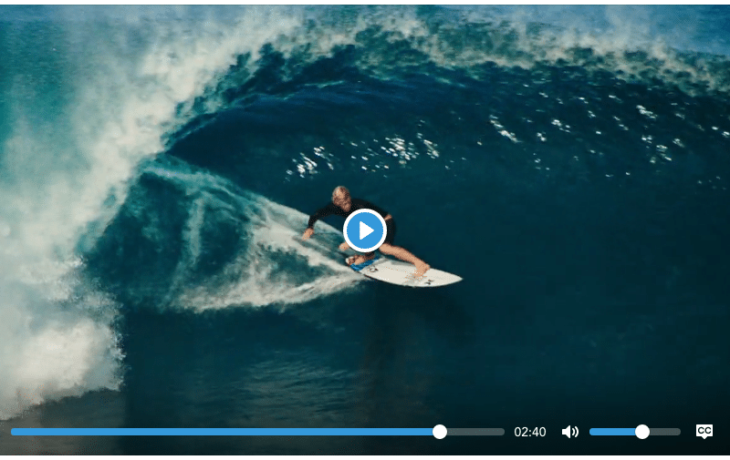 A simple, accessible and customizable HTML5, YouTube and Vimeo media player