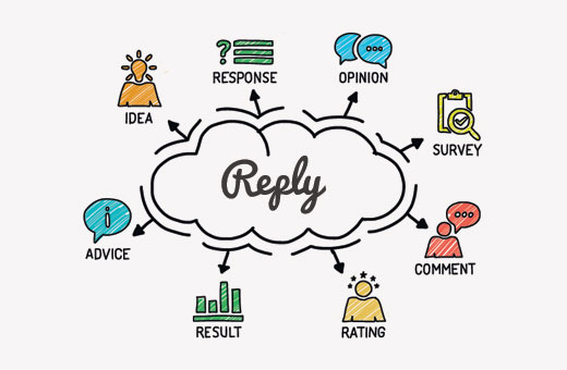 """How to Change the """"Reply"""" Text in WordPress Comments"""