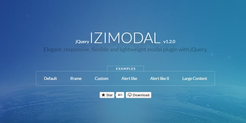 iziModal.js: elegant, responsive, flexible and lightweight modal plugin