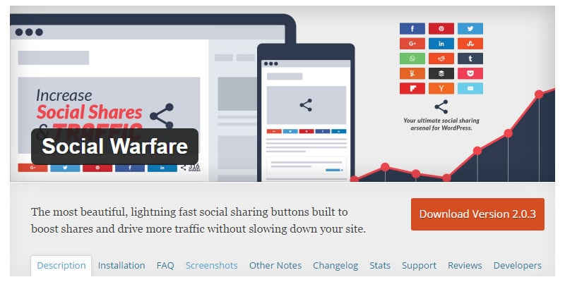 Responsive Social Share Buttons WordPress Plugin