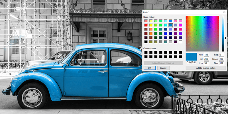 Dynamic Image Colorizing… Pure CSS