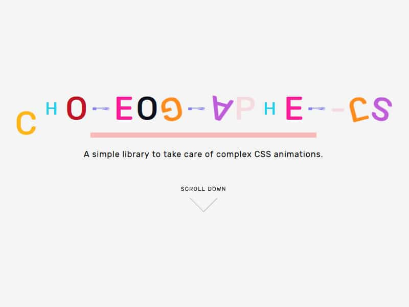 A simple library to take care of complex CSS animations