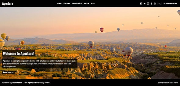 20 Gorgeous Free Photography Website Templates