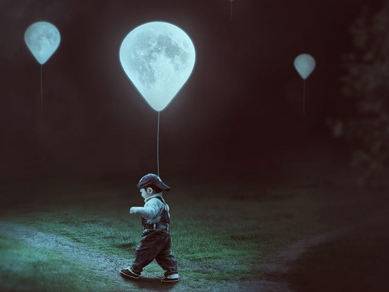 How to Create a Surreal Moon Balloons Scene With Adobe Photoshop