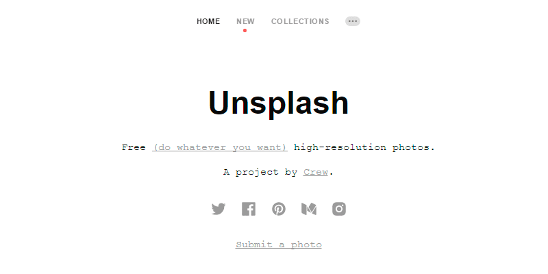 Unsplash: Free high-resolution photos
