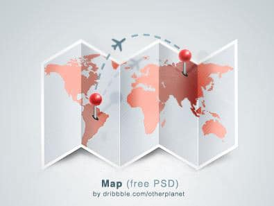 20 Free World Map Templates You Can Download
