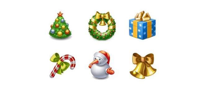 20 Free Christmas Icon Sets