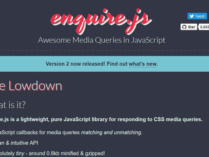 Media Queries in JavaScript   Best 4 Web Design
