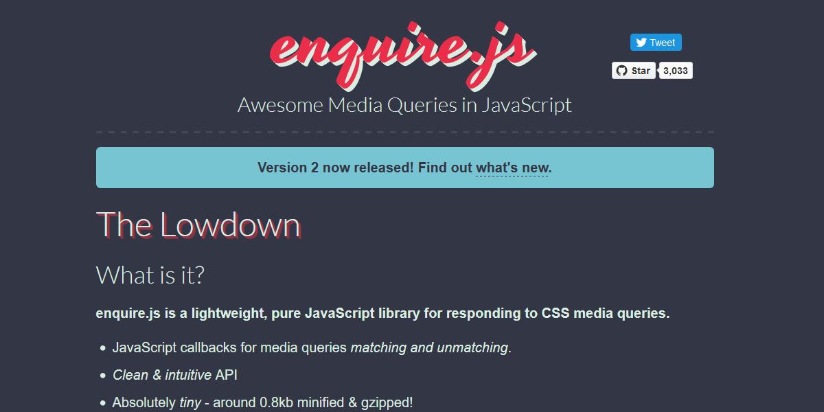 Media Queries in JavaScript