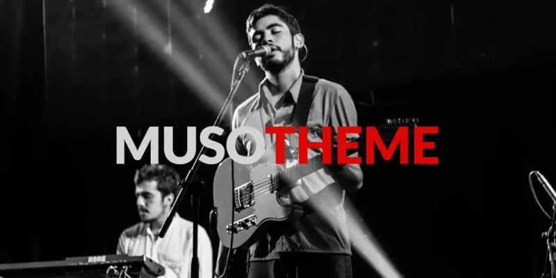 Muso: Free Music-focus WordPress Theme