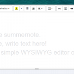 Simple WYSIWYG editor on Bootstrap