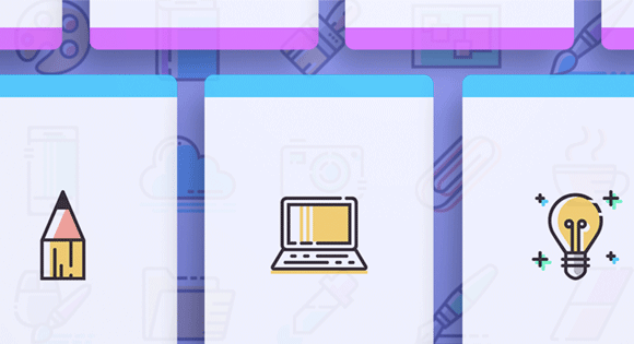 Freebie: Colored Line Icons (SVG, PNG)
