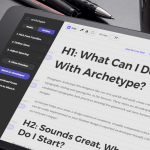 Archetype lets designers like you very quickly and easily create consistent typography