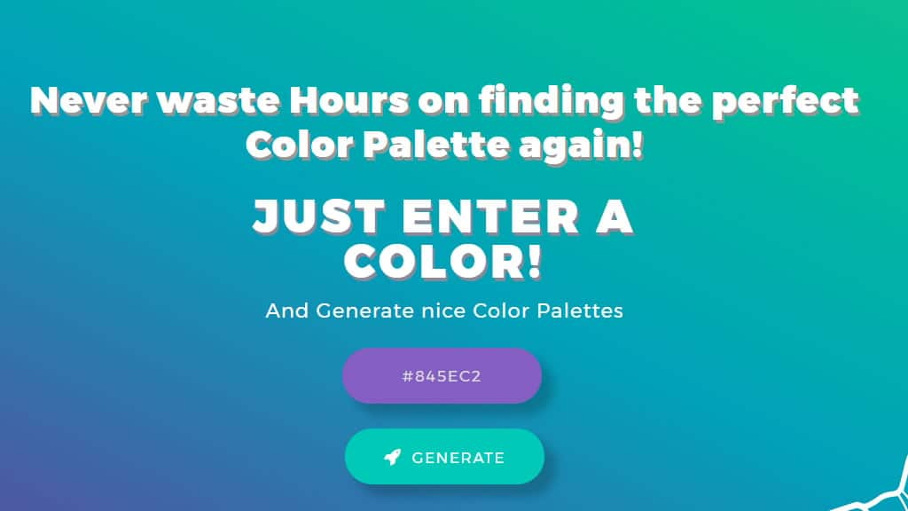 Color Palettes Generator and Color Gradient Tool