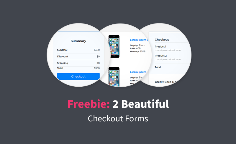 Checkout Forms With Bootstrap