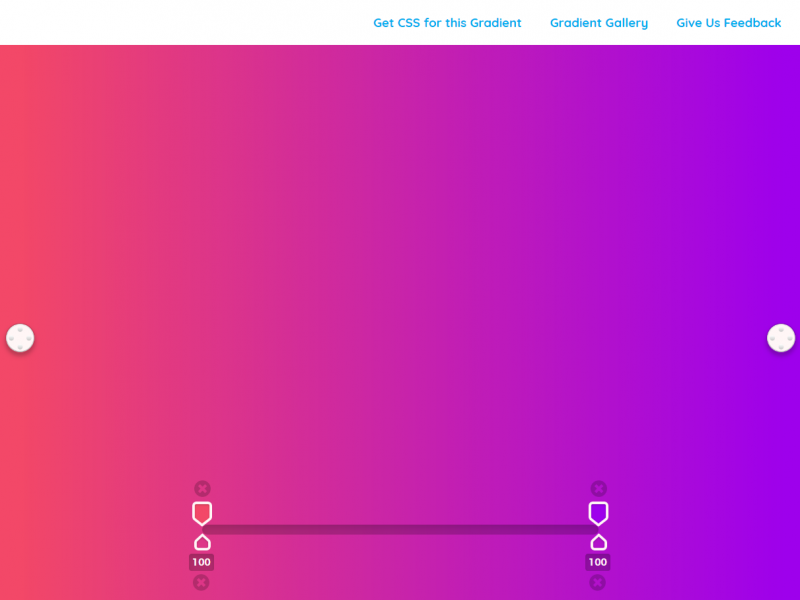 CSS Colour Gradients with GradPad