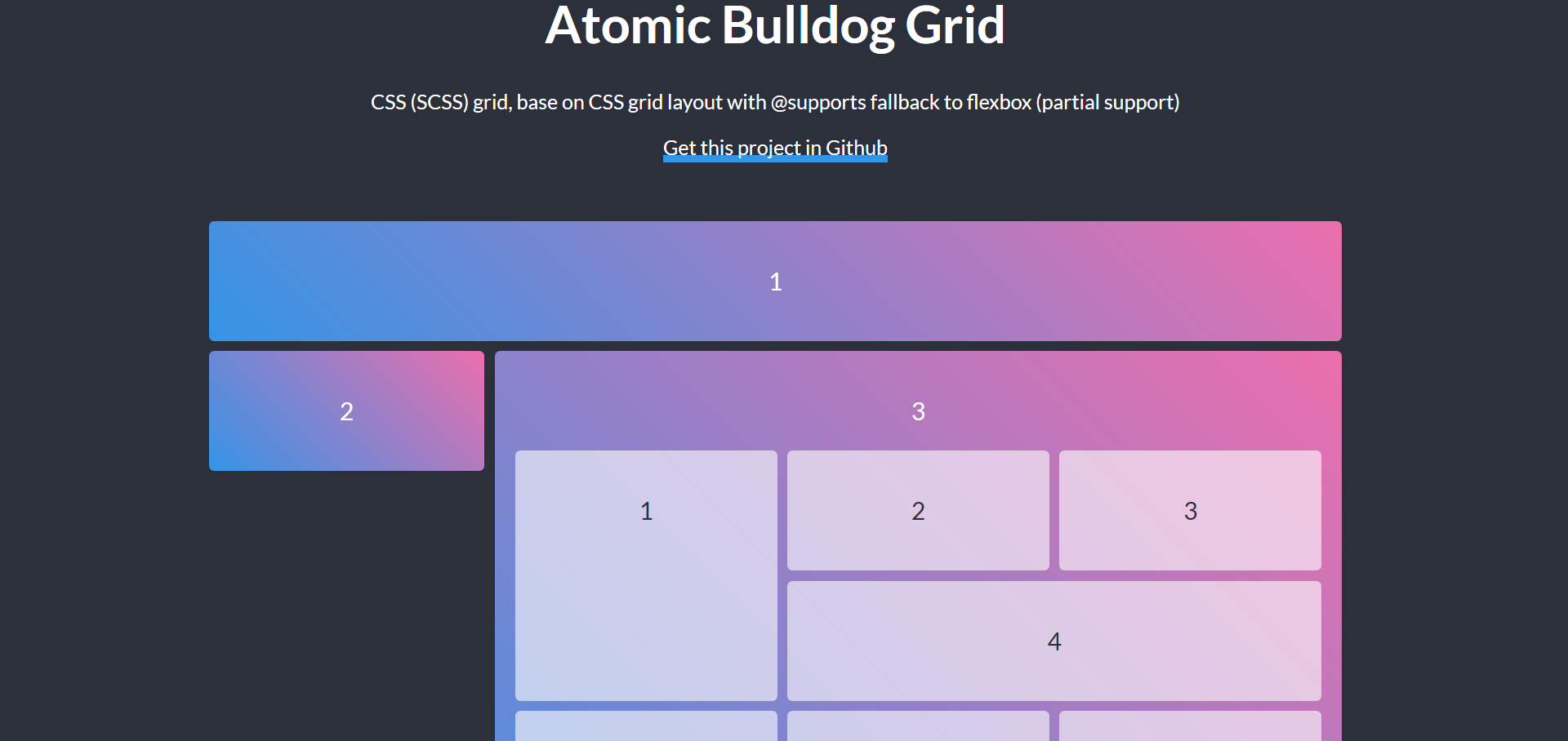 Atomic Bulldog grid