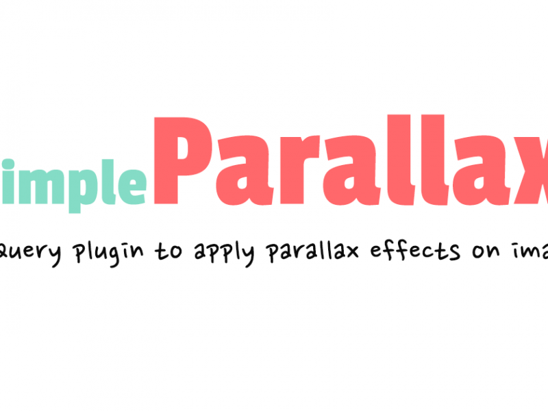 simpleParallax – a jQuery plugin for parallax effects