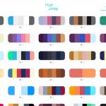 Color inspirations HueSanp