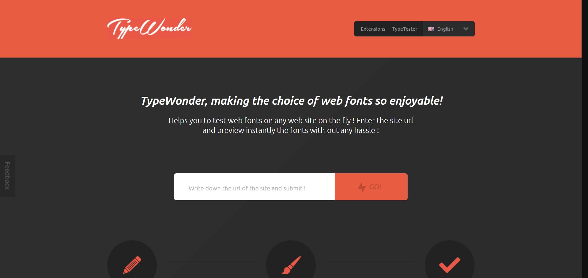 TypeWonder, making the choice of web fonts so enjoyable