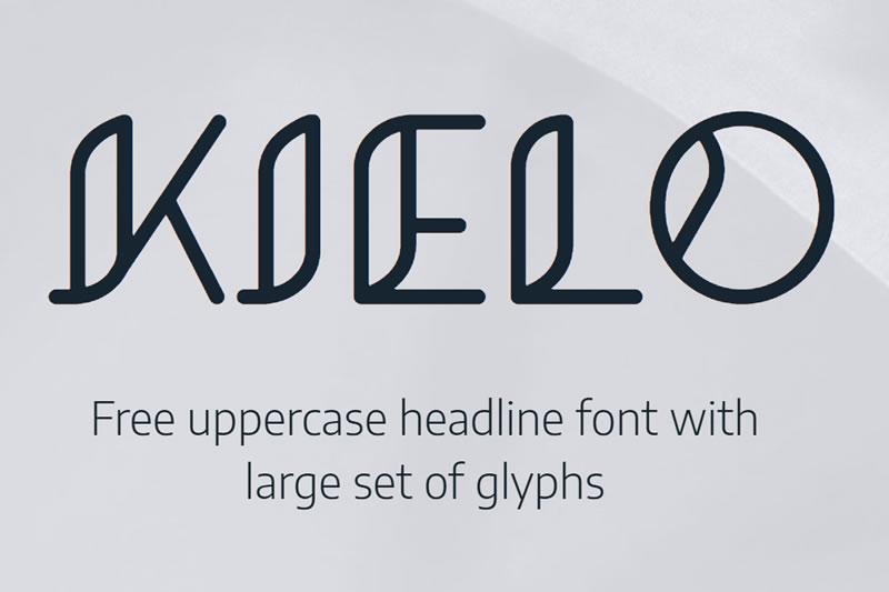 Kielo | Free Font