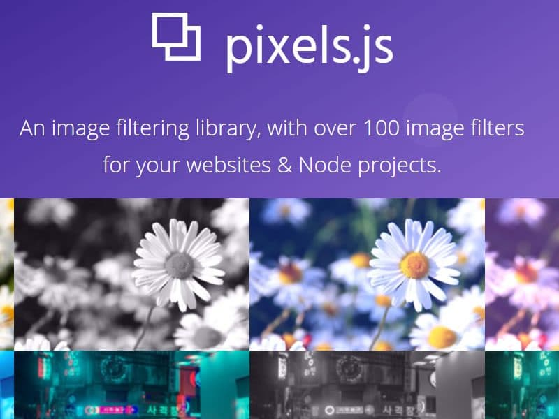 Pixels.js – an image filtering library