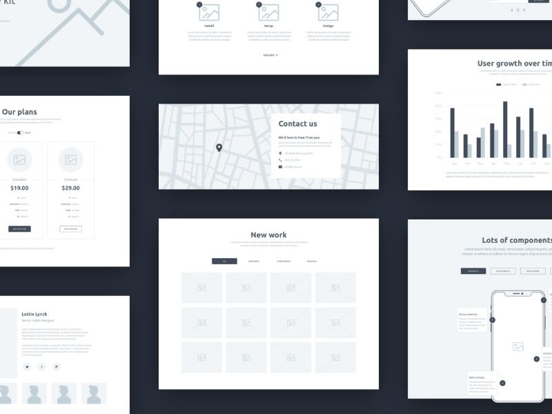 Form – a free wireframe kit