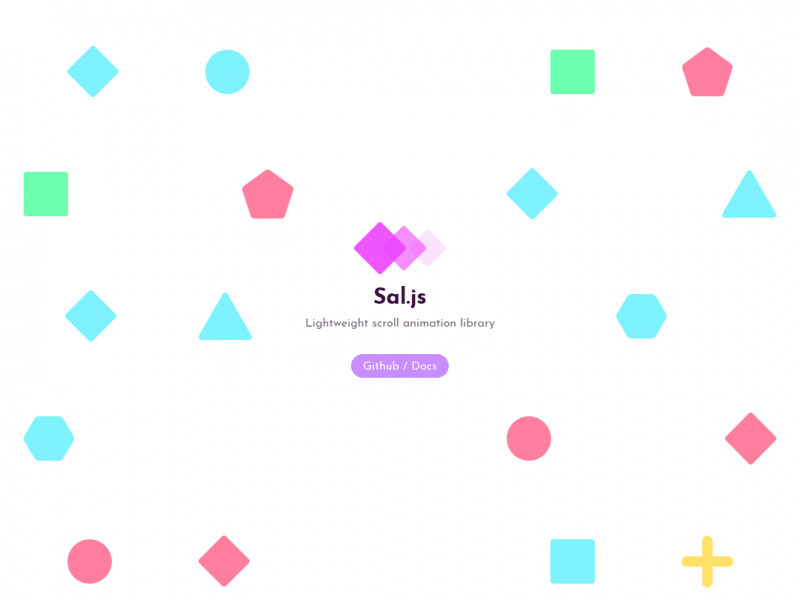 Sal – Scroll Animation Library