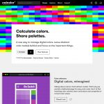 Calcolor – Calculate colors,  Share palettes